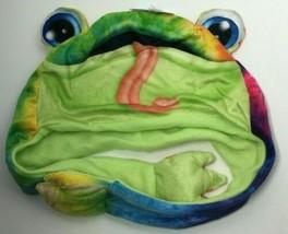 Kipp Brothers Fuzzy Wuzzy Head Huggeez Tie-Dye Frog Themed, Free Shipping - $9.74