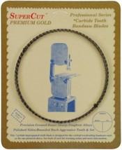 "SuperCut B130G14H6 Carbide Impregnated Bandsaw Blade, 130"" Long - 1/4"" Width; 6  - $34.24"