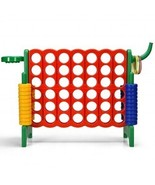 2.5Ft 4-to-Score Giant Game Set-Green - Color: Green - £129.27 GBP
