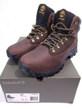 Timberland Rangeley All Weather Boots Full Grain Leather Hiker Brown Men... - $82.24