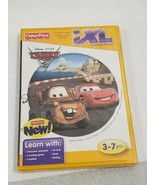 LEARNING SOFTWARE FISHER PRICE iXL LEARNING SYSTEM GAME DISNEY PIXAR CAR... - $6.88