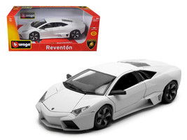 Lamborghini Reventon Matt White 1/18 Diecast Model Car by Bburago - $62.13