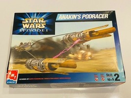 AMT ERTL Star Wars Episode 1 Anakins Podracer 1:32 Model Kit Open Box - $25.00