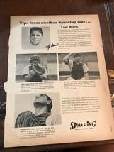1961 Yogi Berra New York Yankees Baseball Tips From Another Spalding Sta... - $93.10