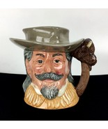 Royal Doulton Buffalo Bill Toby Mug Jug 1984 Wild West D6735 Tabbenor De... - $123.70