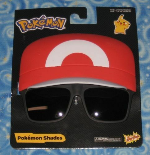Primary image for New Pokemon Shades Ash Ketchum Hat X&Y Sun Staches Trainer Character sunglasses