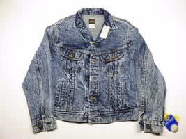 VTG Kid's Lee's Denim Rider Jacket Size 18 Button Up Jacket 100% Cotton - $26.10