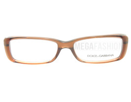 New Dolce & Gabbana  DG 3142-2542 Clear Brown/Bronze Acetate 53 15 137 Authentic - $93.10