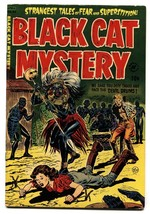 BLACK CAT MYSTERY #43-WOMEN TIED UP AND MENACED 1953-PCH FN+ - $545.63