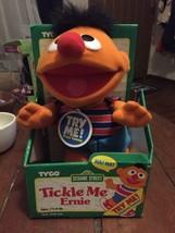 """Vintage 1996 TYCO Sesame Street Tickle Me Ernie 11"""" Plush Doll NEW NIB NWT - $34.82"""