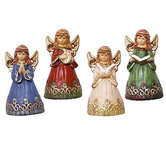 Decorative Angel Bell Figurine - Set of 4 - $16.76