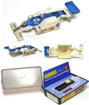 1980 V.Rare Aurora Bata Din Williams Slot Car Body+ Box 1836 Most Stickers Cl EAN - $415.79