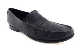 COLE HAAN Size 12 Black Leather Penny Loafers Shoes w/ Air - $68.00