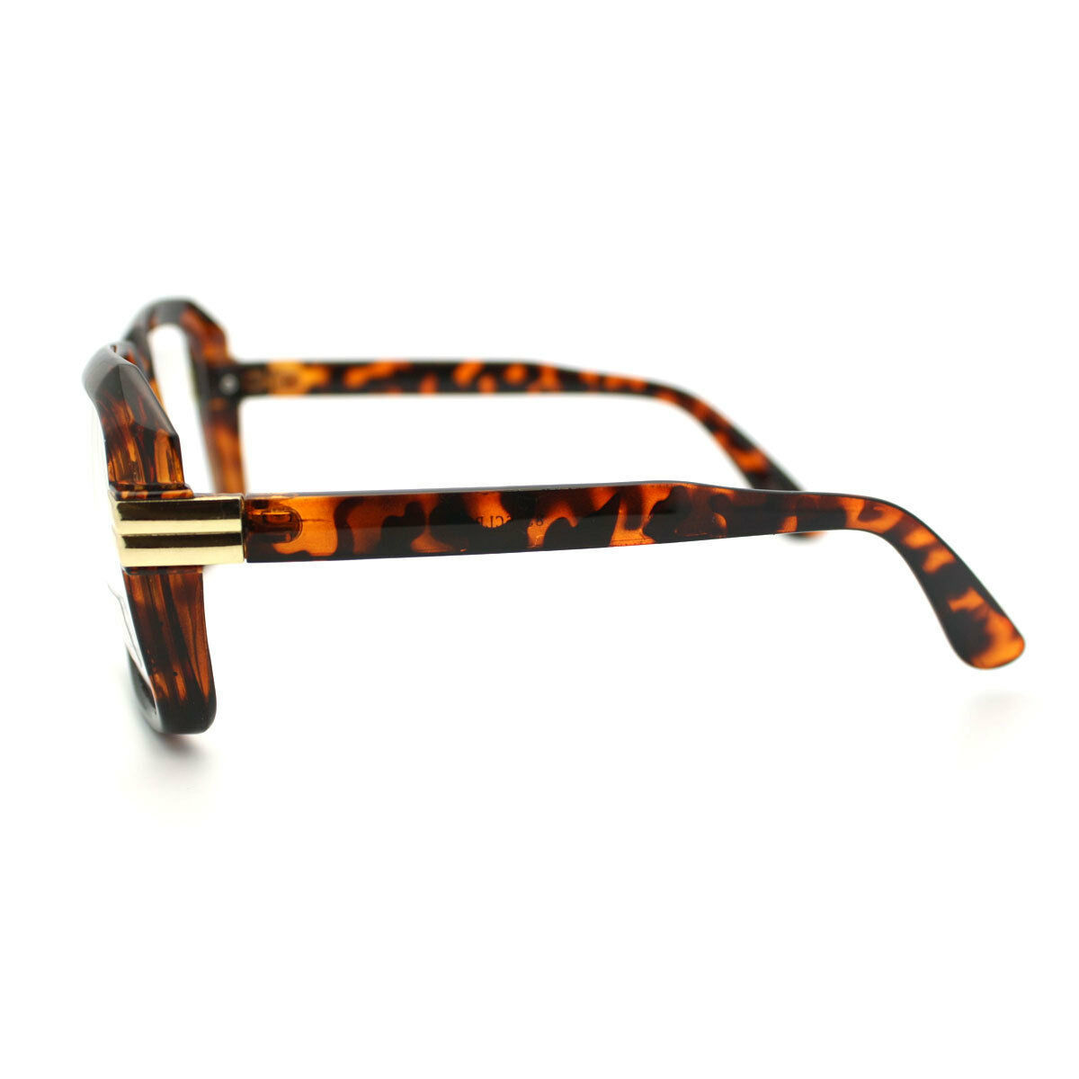 Clear Lens Glasses Super Oversized Thick Square Celebrity Fashion