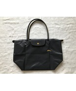 Longchamp Club Le Pliage Bag Gray Metal Large L1899619300 - $87.99