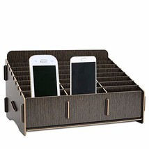 Edudif Classroom Cell Phone Storage Box Desktop Multiple Cell Phone Holder Stand