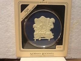 Hallmark Keepsake Ornament - Norman Rockwell #5 Cameo  - 1984 - QX341-1 - $6.95