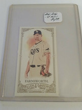 2012 Topps Allen and Ginter Mini #304 Kyle Farnsworth : Tampa Bay Rays - $1.85
