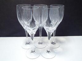 5 Mikasa Glade Wine Stems - $34.95