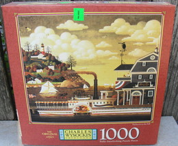 "Charles Wysocki ""Fairhaven in the Fall"" Puzzle 1000 Pieces Factory Sealed - $18.00"