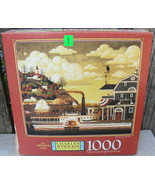 """Charles Wysocki """"Fairhaven in the Fall"""" Puzzle 1000 Pieces Factory Sealed - $18.00"""