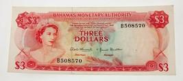 1968 Bahamas Nota Extra Fina Estado Recoger #28a - $99.10