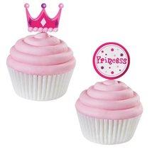 "Wilton Decorations Fun Pix 3"" Princess 12pc - $2.99"