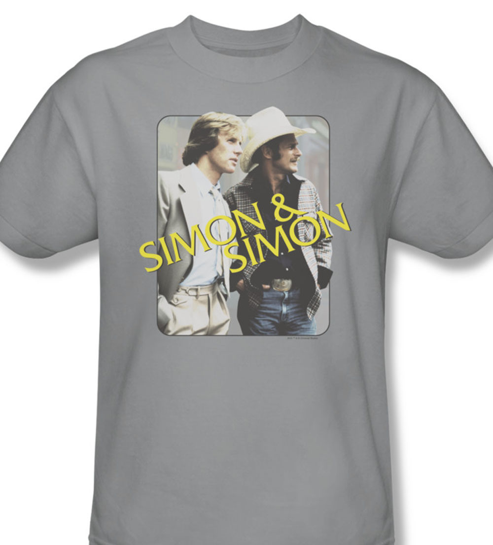 Nbc308 at simon and simon gray tee tv series 1980 s rick and a