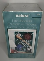 "Sports Latch Hook Kit Natura Caron 20"" X 27"" New Sealed R058 - $16.99"