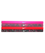 NEW Nike Girl`s Assorted All Sports Headbands 4 Pack Multi-Color #9 - $20.00