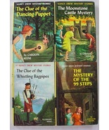 Nancy Drew 4 Lot nos.39, 40, 41, 43 Yellow Spine Picture Cover Editions - $12.00