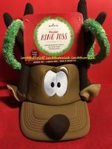 Hallmark Reindeer Ring Toss Game Hat w/ Rings New   - $69.99