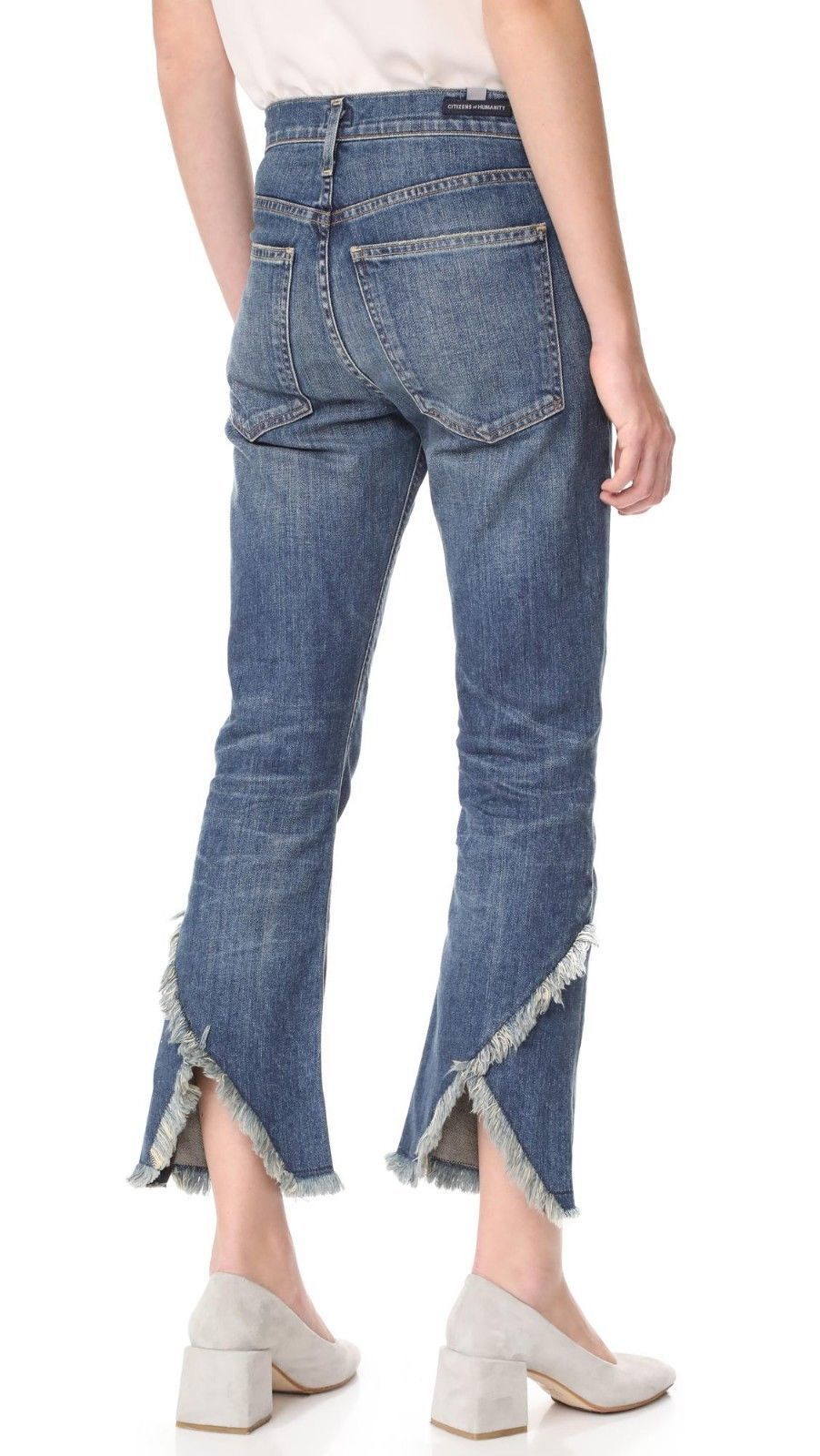 Primary image for NWT CITIZENS of HUMANITY DREW FRAY ALTERRA HIGH RISE CROP FLARE JEANS 30