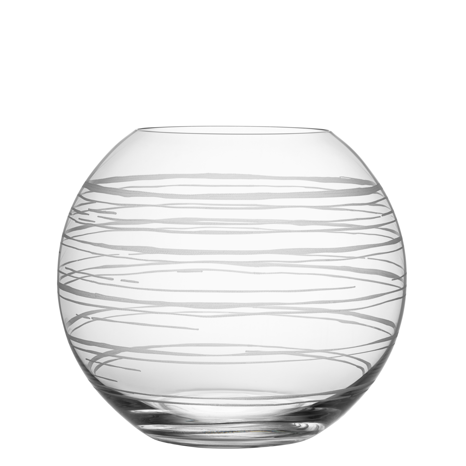Primary image for Orrefors Graphic Vase by Magnus Forthmeiier (Cylinder, Round Medium or Round Lar