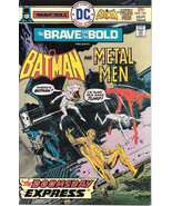 The Brave and the Bold Comic Book #121, DC Batman and Metal Men 1975 VER... - $8.79
