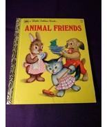 a Little Golden Book~ Animal Friends 3rd Printing 1975 - $4.46