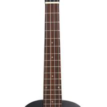 "26"" Pure Color Rosewood Fingerboard Basswood Tenor Ukulele with Bag Black - $29.63"