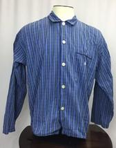 Polo Ralph Lauren Button Up Blue Red Black stripe Shirt Size XL - $17.77