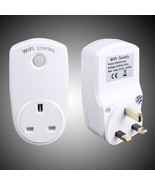 WiFi Smart Plug Remote Control Outlet for Home Appliances No Hub Required - $49.71 CAD