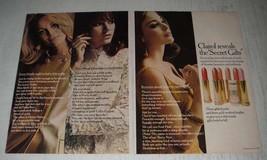 1966 Clairol Secret Gilts Lipcolors Ad - Clairol reveals the Secret Gilts - $14.99