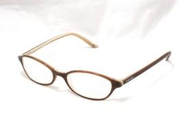 Nine West 402 Women's Eyeglasses Frame, Oval. OTW2 Brown 52-18-135 #E54 - $49.45
