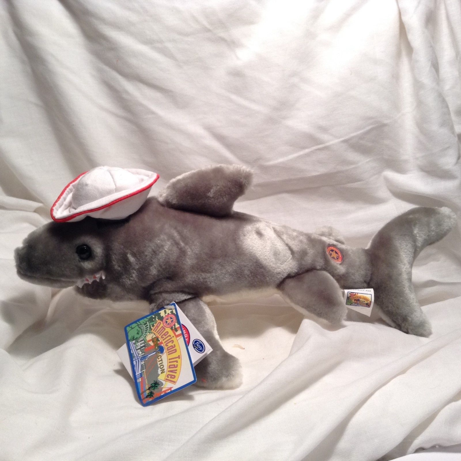 NEW Herrington 'Jaws the Shark' American Travel Collection Stuffed Animal