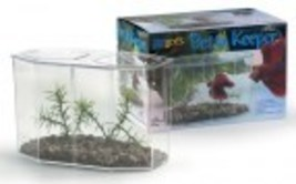 Small Betta Keeper,19535 Lee's Pet Aquarium, New, Clear w/Optional Divider