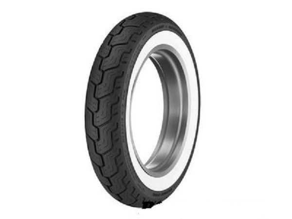 New Dunlop D402 Rear Wide Whitewall WWW MU85B16 Harley Tire Tubeless