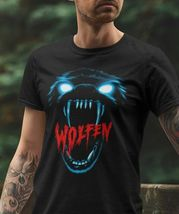 Wolfen T Shirt retro werewolf horror movie 80s classic 100% cotton graphic tee  image 3