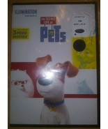 The Secret Life of Pets DVD Includes 3 Mini Movies - $5.93