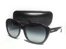 COACH women sunglasses black with hard leather case  - $145.50