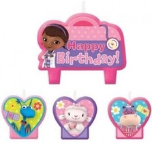 Doc McStuffins Birthday Party Cake Candles - 4ct - $15.27