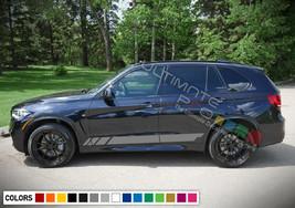 Sticker Decal Side Sport Stripe Kit for BMW X5 2013 2020 Headlight Brake... - $36.42+