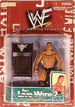 WWF The Rock Live Wire 2 1998 Wrestling action figure NIB JAKKS Pacific WWE - $25.98